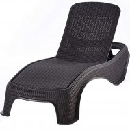Шезлонг «Keter» Atlantic Sun Lounger, графит.