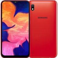 Смартфон «Samsung» SM-A105FZRGSER, красный.