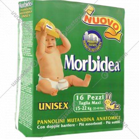 Подгузники «Morbidea Maxi» размер 5, вес 15-22 кг, 16 шт.
