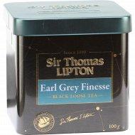 Чай черный «Sir Thomas Lipton» Earl Grey Finesse, 100 г.