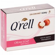 Крем-мыло «Q'rell» масло ореха Макадамии, 100 г.
