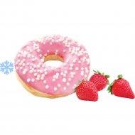 Пончик «Донатс» со вкусом клубники, замороженный, 55 г.