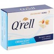 Крем-мыло «Q'rell» экстракт шёлка и ланолина 100 г.