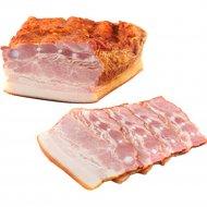 Продукт из свинины «Грудинка застольная» копчено-вареный, 1 кг., фасовка 0.35-0.5 кг