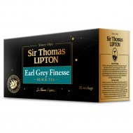 Чай чёрный «Sir Thomas Lipton» earl grey finesse, 50 г.