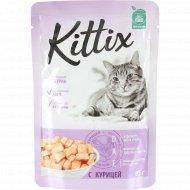 Корм для кошек «Kittix» с курицей, 85 г