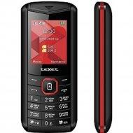 Мобильный телефон «Texet» TM-D206, черный