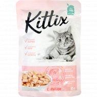 Корм для кошек «Kittix» с рыбой, 85 г