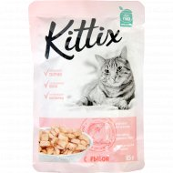 Корм для кошек «Kittix» с рыбой, 85 г.