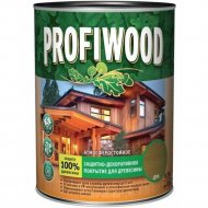 Защитно-декоративный состав «Profiwood» для древесины, сосна, 0.75 л