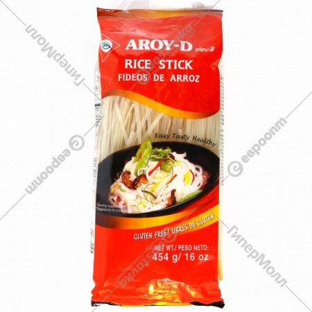 Рисовая лапша «Aroy-d» 3 мм, 454 г.
