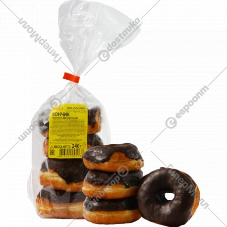 Пончик «Донатс» десертный, 240 г.