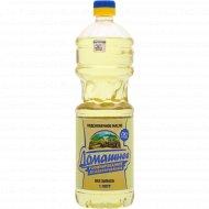 Масло подсолнечное «Домашнее» рафинированное, 1 л.