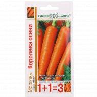 Морковь «Королева осени» 1+1, 4 г.