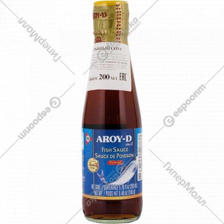 Рыбный соус «AROY-D» 200 мл.