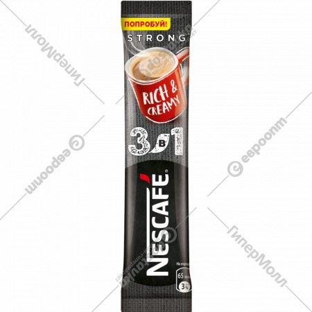 Кофейный напиток «Nescafe» крепкий 3 в 1, 16 г.