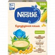 Каша «Nestle» кукурузная, безмолочная, 200 г