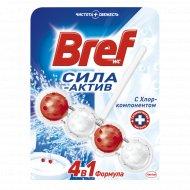 Чистящий блок «Bref» Cила-Актив с хлором 51 г.