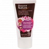 Зубная паста биорганическая детская «Douce Nature» с клубникой, 50 мл.