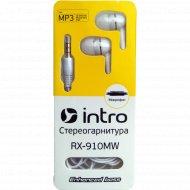 Наушники-гарнитура внутриканальные «Intro» RX-910M.