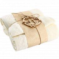 Набор полотенец «Spany Interio» 70 х 130 см. + 30 х 50 см.