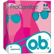 Тампоны гигиенические «o.b.» ProComfort Mini, 8 шт.