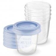 Контейнеры для хранения грудного молока «Philips Avent» 0+, 5 шт