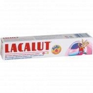 Зубная паста «Lacalut» с ароматом малины, для детей до 4 лет, 50 мл.