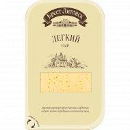 Сыр «Брест-Литовск» лёгкий, нарезанный, 35 %, 150 г.