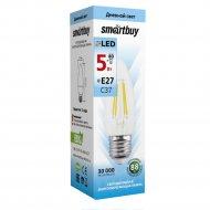 Лампа светодиодная «Smartbuy» FIL C37 5W E27 4000K.