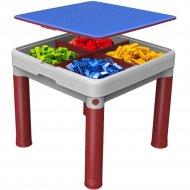 Комплект детской мебели «Keter» Construction Lego Table