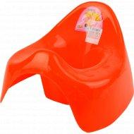 Горшок детский пластмассовый 27x29х21 см.