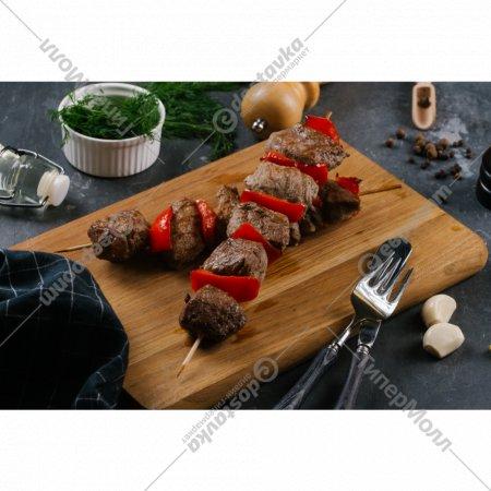 Шашлычки из свинины с перцем на шпажке, 75 г.