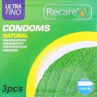 Презервативы «Recare» natural, 3 шт.