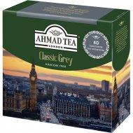 Чай черный «Ahmad Tea» с ароматом бергамота, 40 пакетиков.