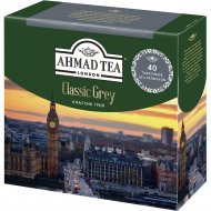 Чай черный «Ahmad» Классик со вкусом и ароматом бергамота, 40х2 г.