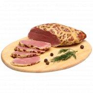 Продукт из мяса «Розовая телятина» копчено-вареный, охлажденный, 1 кг., фасовка 0.3-0.5 кг