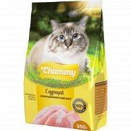 Корм для кошек «Chammy» с курицей, 350 г.