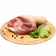 Полуфабрикат из свинины для первых блюд, охлажденный, 1 кг., фасовка 1.5-1.8 кг
