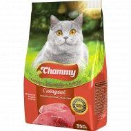 Корм для кошек «Chammy» с говядиной, 350 г.