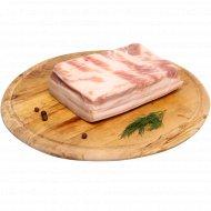 Полуфабрикат «Грудинка свиная бескостная» охлажденный, 1 кг., фасовка 0.8-0.9 кг