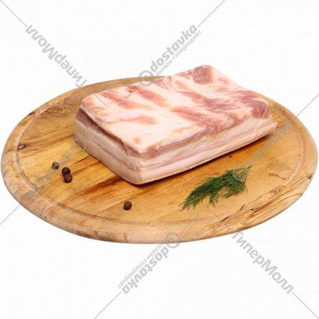 Полуфабрикат «Грудинка свиная бескостная» охлажденный, 1 кг., фасовка 0.6-1.2 кг