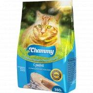 Корм для кошек «Chammy» с рыбой, 350 г.