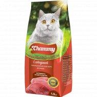 Корм для кошек «Chammy» с говядиной, 1.9 кг.