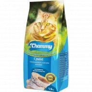 Корм для кошек «Chammy» с рыбой, 1.9 кг.