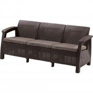 Диван «Keter» Corfu Max Love Seat, коричневый.