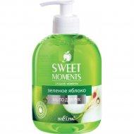 Жидкое мыло для рук «Sweet Monents» зелёное яблоко, 500 мл.
