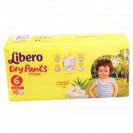 Подгузники «Libero» dry pants 6, 13-20 кг, 30 шт.