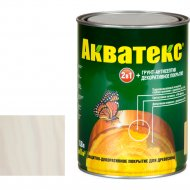Защитно-декоративный состав «Акватекс»белый, 0.8 л