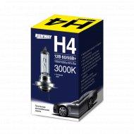 Галогенная автомобильная лампа H4 12В 60/55Вт, RW-H4.